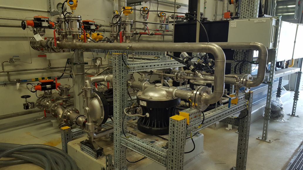 Pompa membranowa wykonana ze stali ko AISI 316
