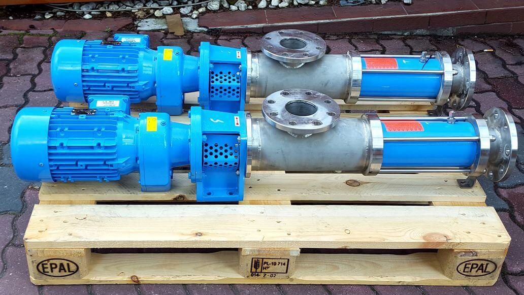 Pompa śrubowa PF-Pumpen AFJ 50.1 B