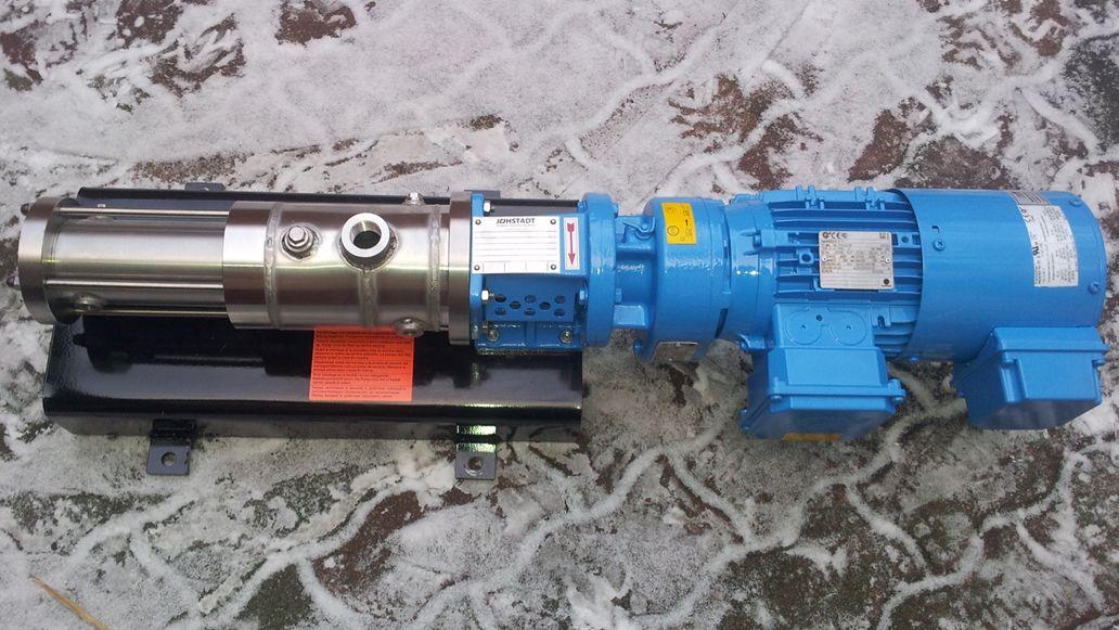 Pompa śrubowa typu AFJ 15.2 B AISI