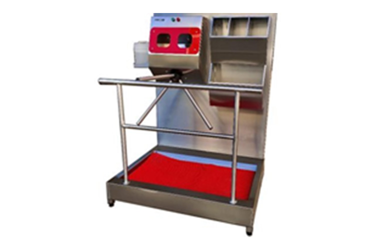 Disinfectant Turnstile with Bone Box