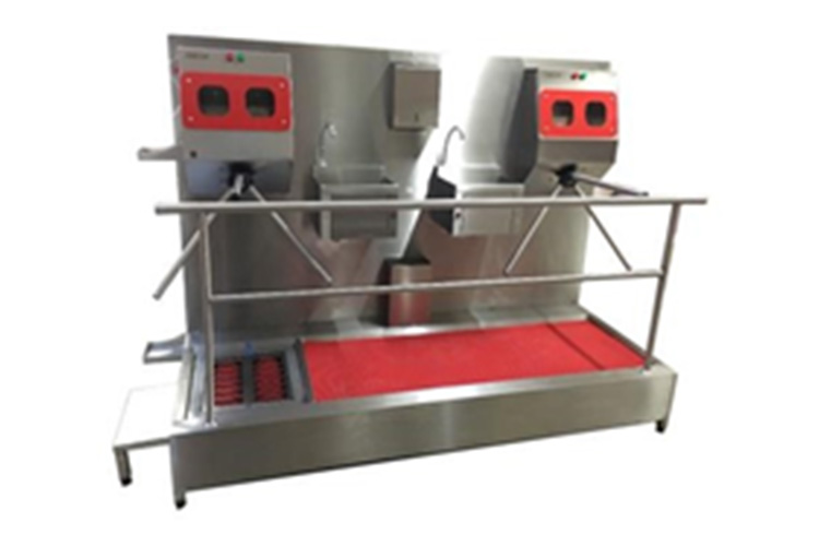 Hygiene Line with Soap Turnstile